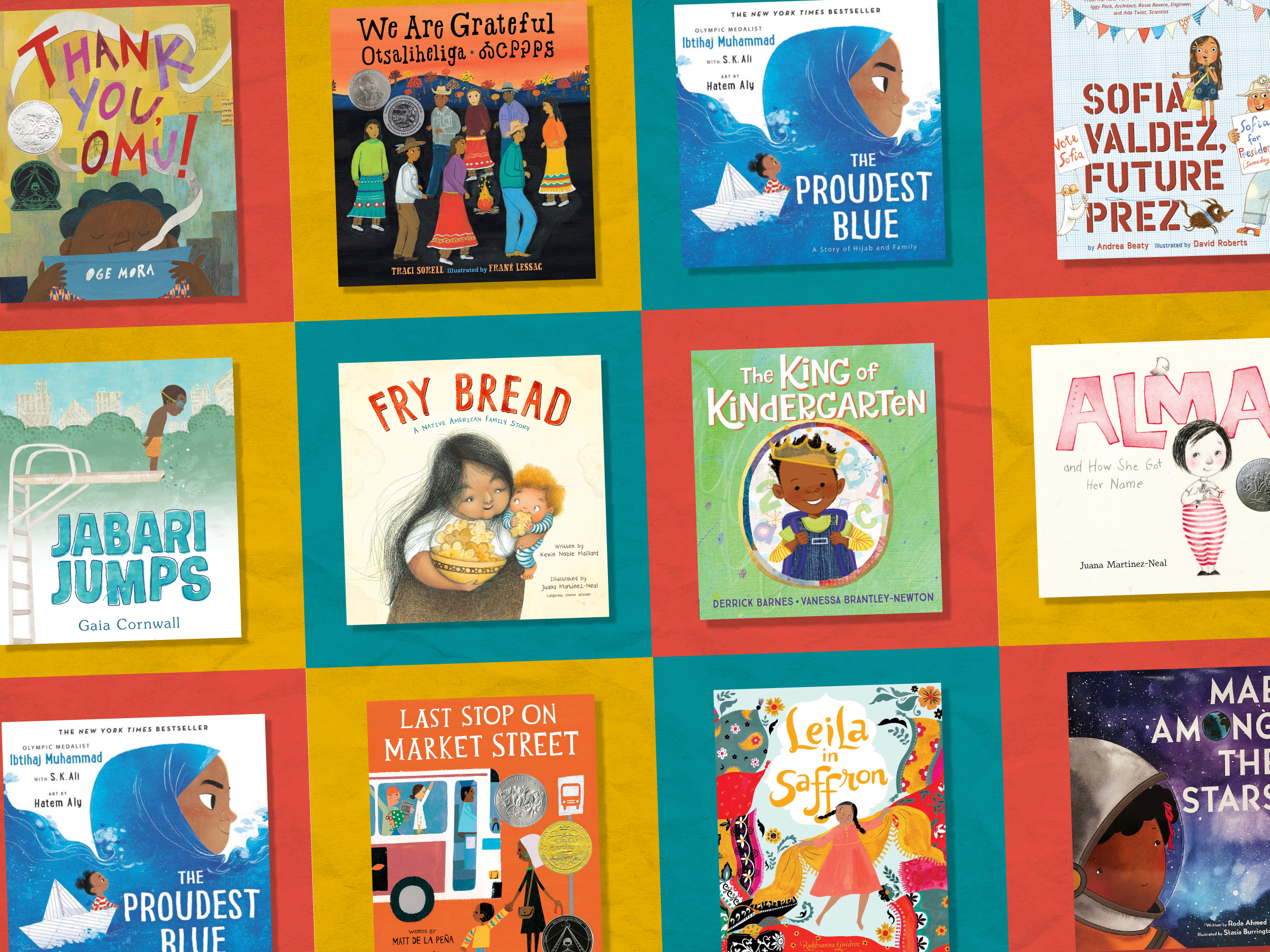 Diverse books for young children 4x3