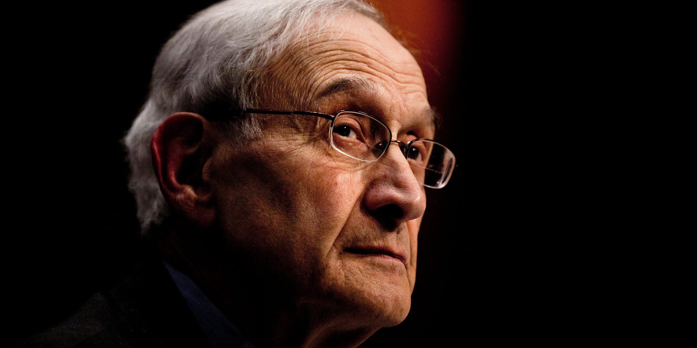 WASHINGTON - FEBRUARY 2: Charles Fried, professor of law at Harvard Law School, listens during a hearing of the Senate Judiciary Committee on Capitol Hill February 2, 2011 in Washington, DC. The committee held the hearing to discuss the constitutionality of the Affordable Care Act, which was passed last year to reform healthcare and was a major issue during the 2010 midterm elections. (Photo by Brendan Smialowski/Getty Images)