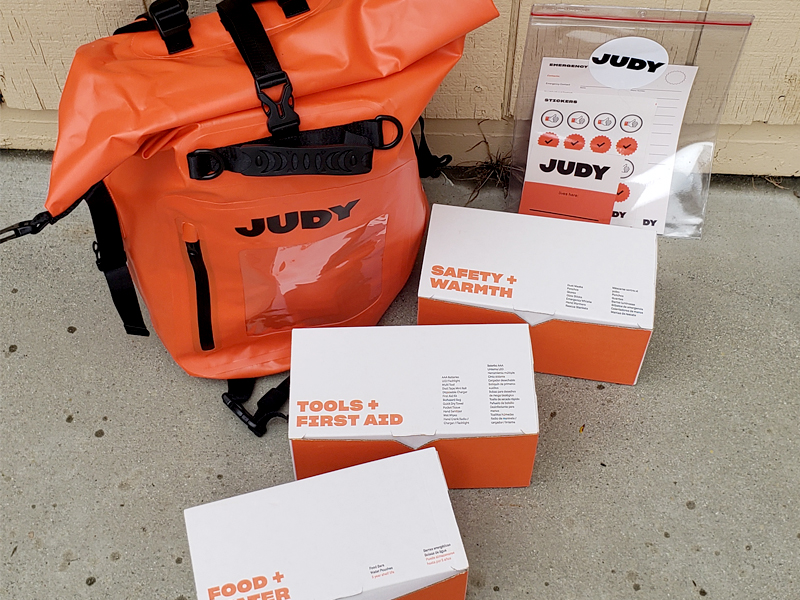 judy emergency kit review