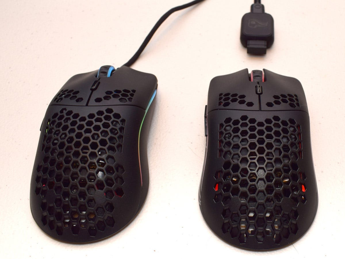 Model O mouse wired and wireless