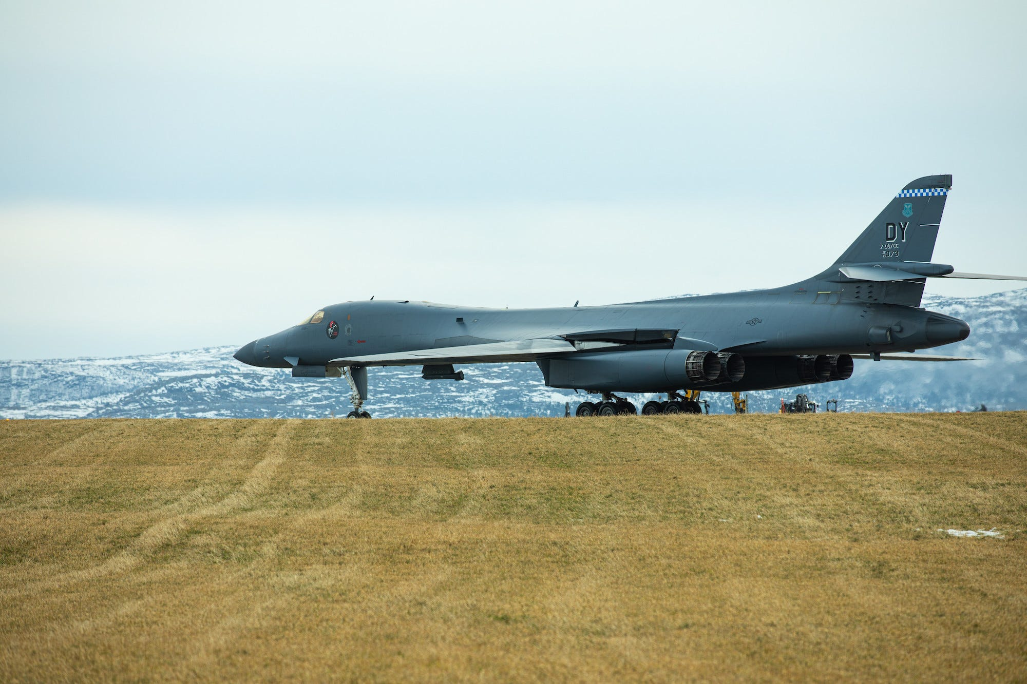 Air Force B-1B bomber Norway