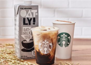 Starbucks is launching a line of oat milk-based drinks nationwide as demand for dairy alternatives continues to rise (SBUX)