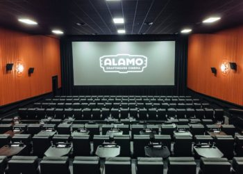 The movie-theater chain Alamo Drafthouse Cinema has filed for bankruptcy and is being sold