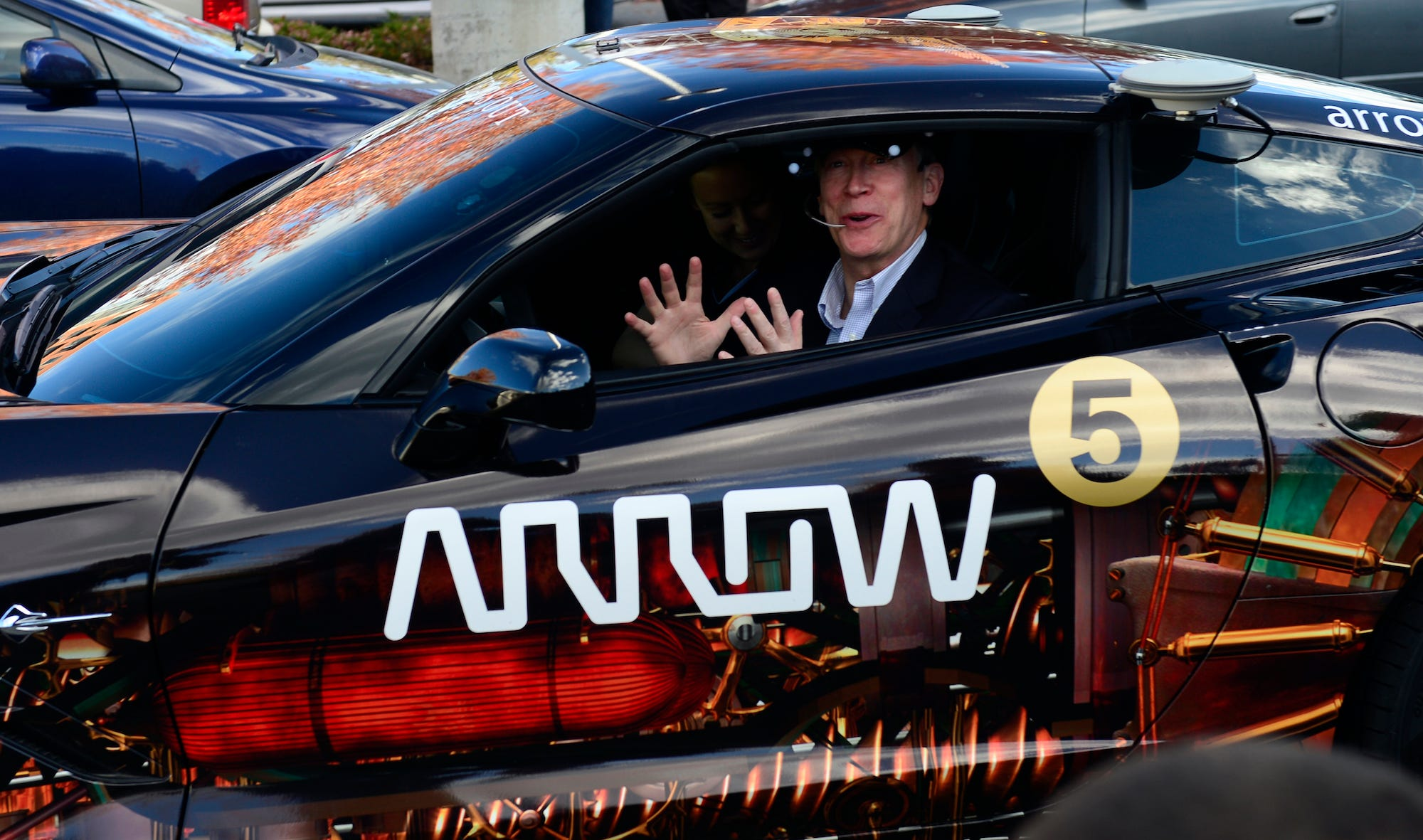 john hickenlooper arrow electronics car