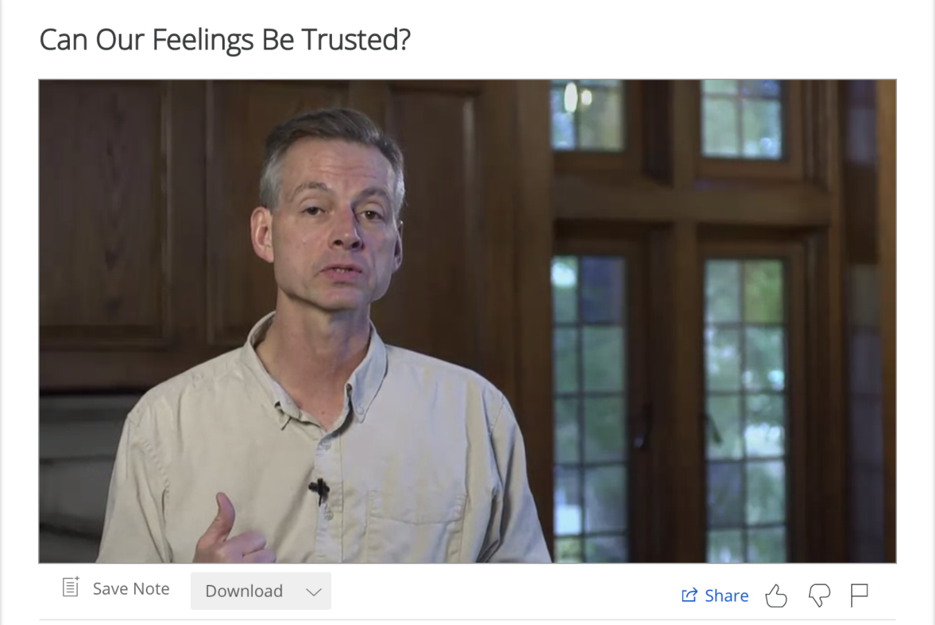 Can Our Feelings Be Trusted