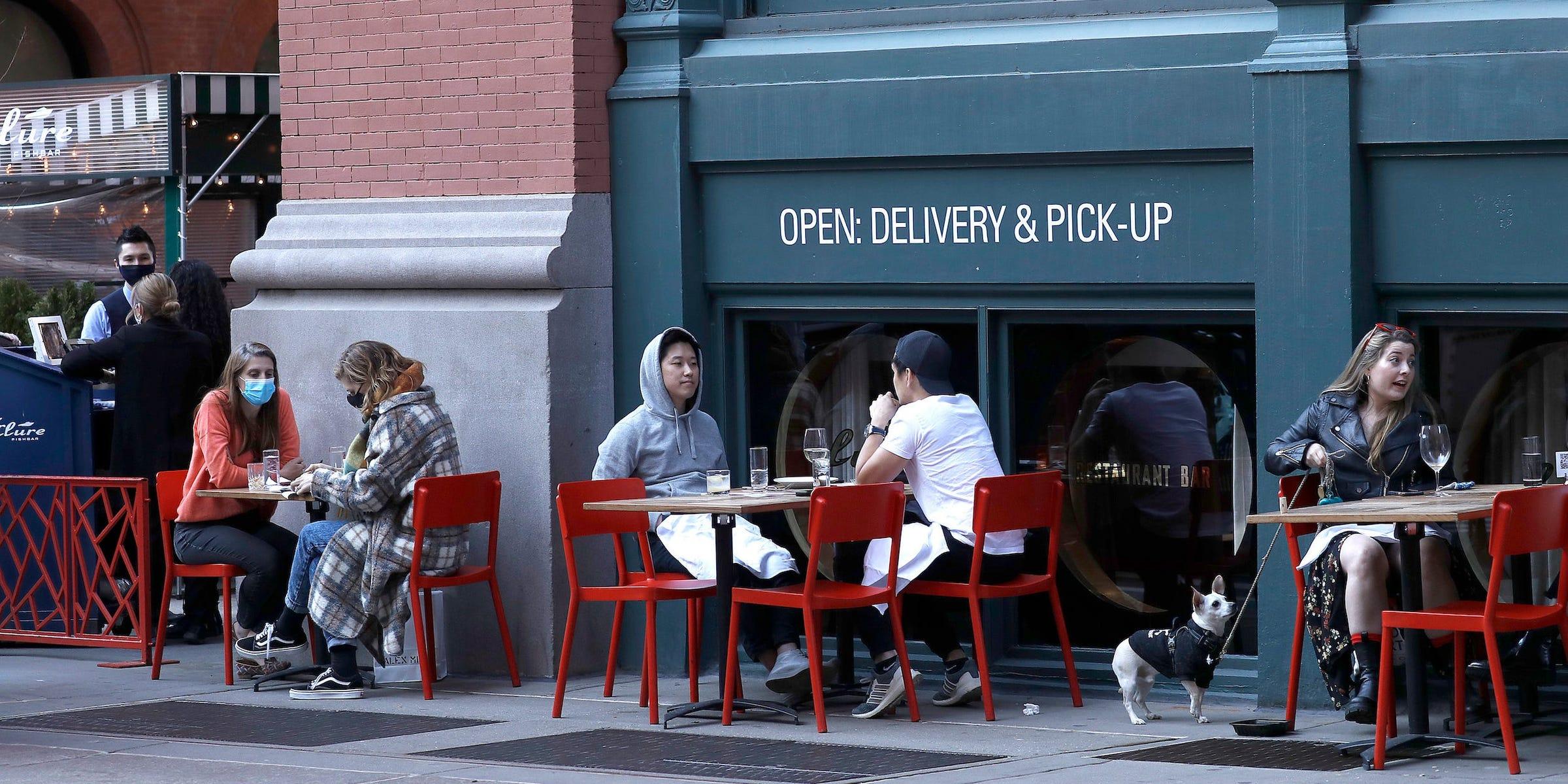New York outdoor dining