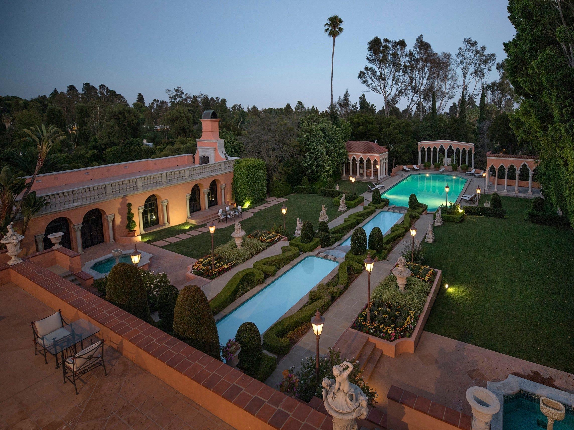 godfather mansion hearst estate