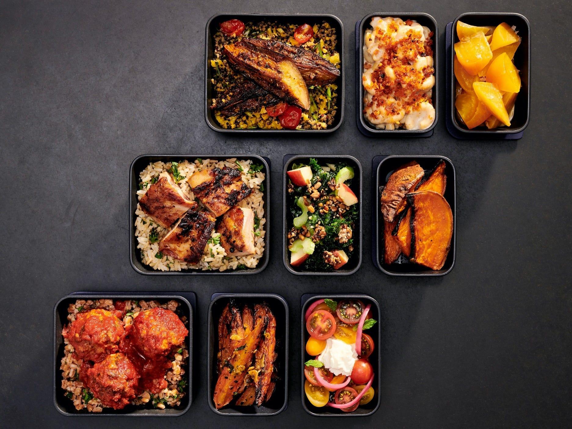 JetBlue Airways London meal service
