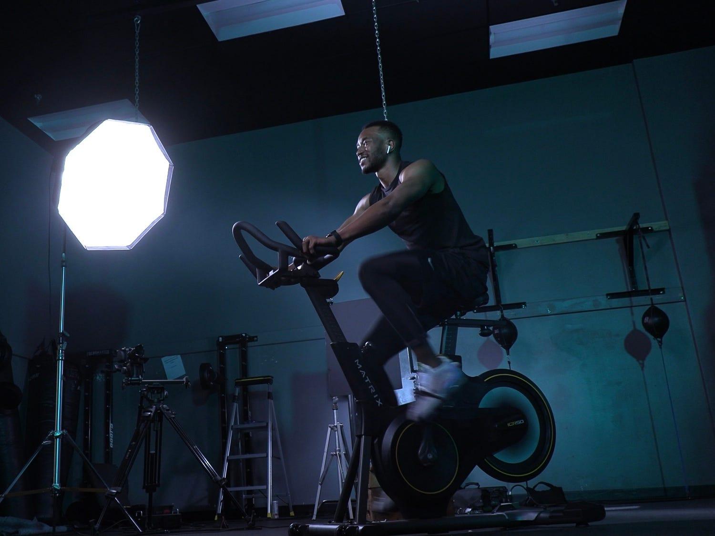retro fitness bike
