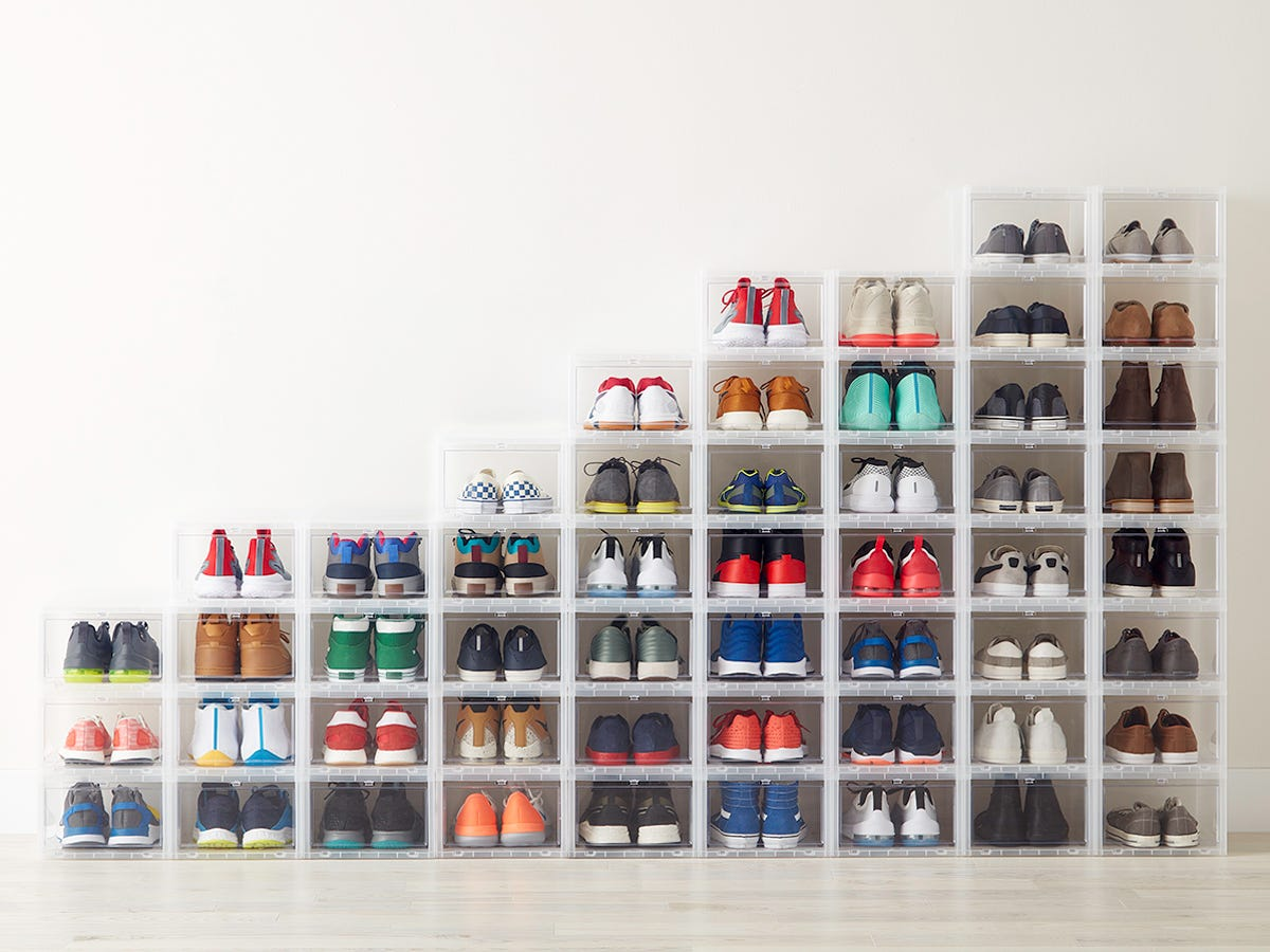 The Container Store Drop Front Shoe Boxes