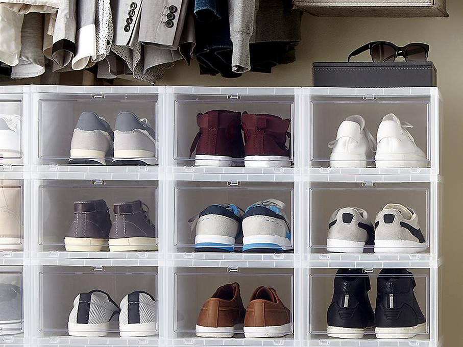 The Container Store shoe boxes